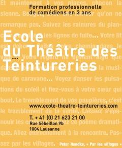 Ecole du Théâtre des Teintureries