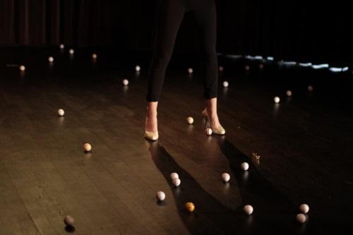 Swing - photo prise lors d'une étape de travail au Théâtre Saint-Gervais Genève © Jean-François Vercasson