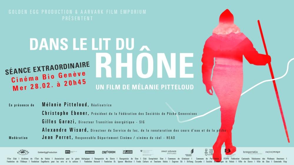 Dans le lit du Rhône - un film de Mélanie Pitteloud
